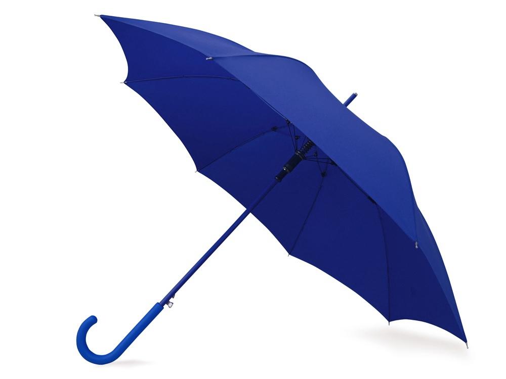 Зонт-трость Color полуавтомат, синий