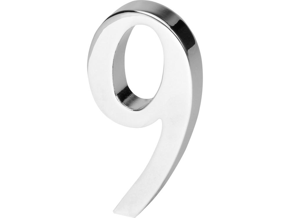 Цифра «Девять» для часов 628089 и 628099, серебристый