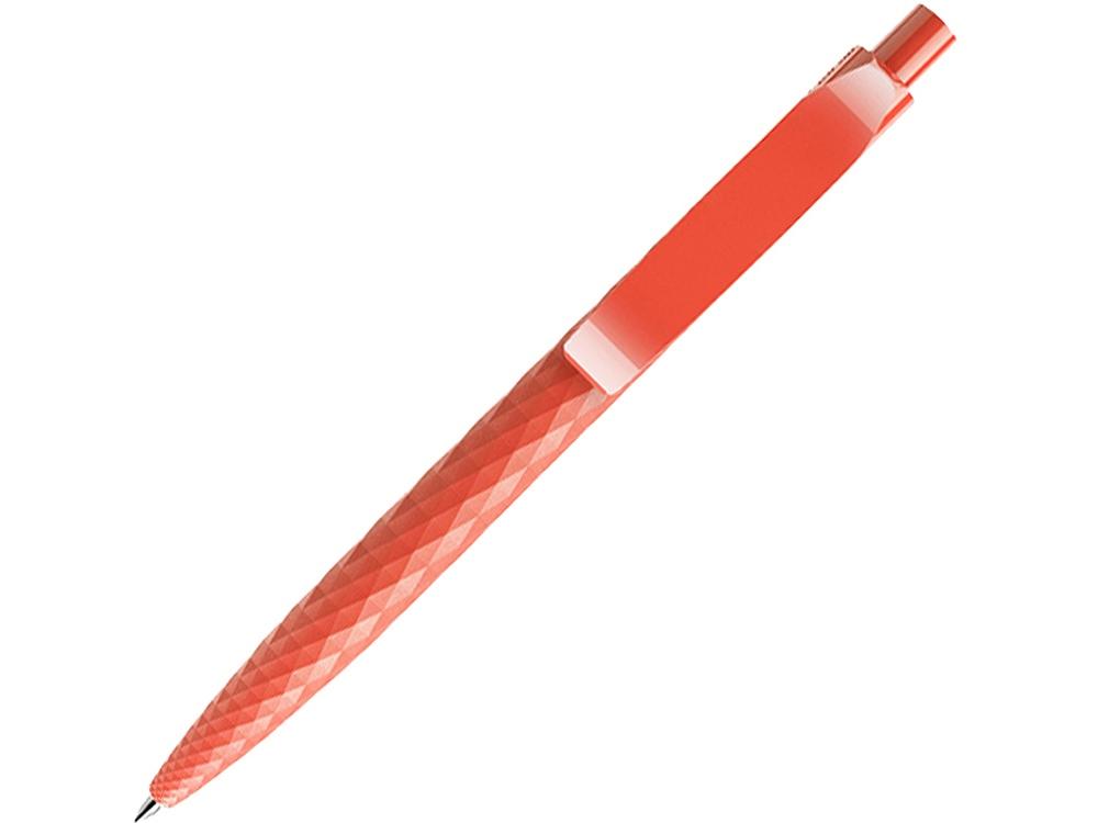Ручка шариковая Prodir QS 01 PMP, оранжево-красный