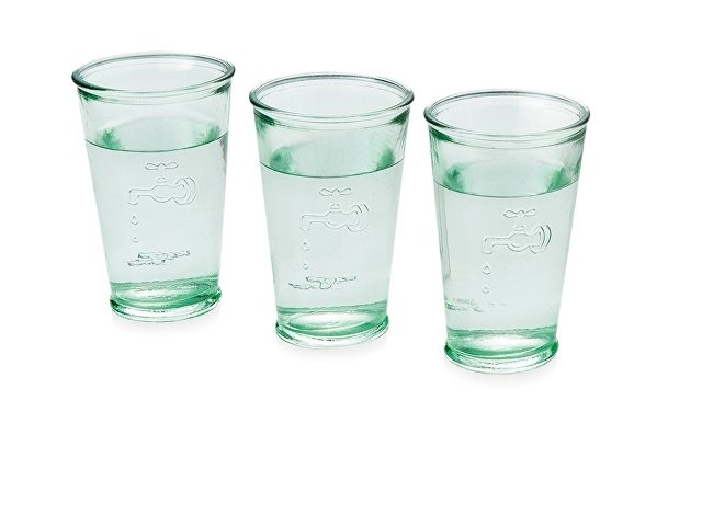 Набор из 3 стаканов для воды