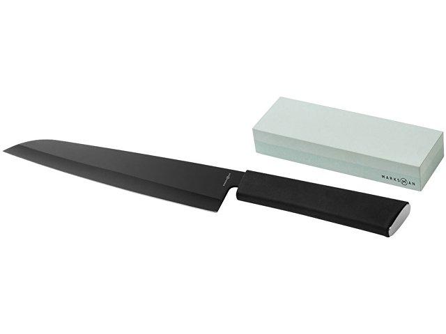 Кухонный нож и брусок Element