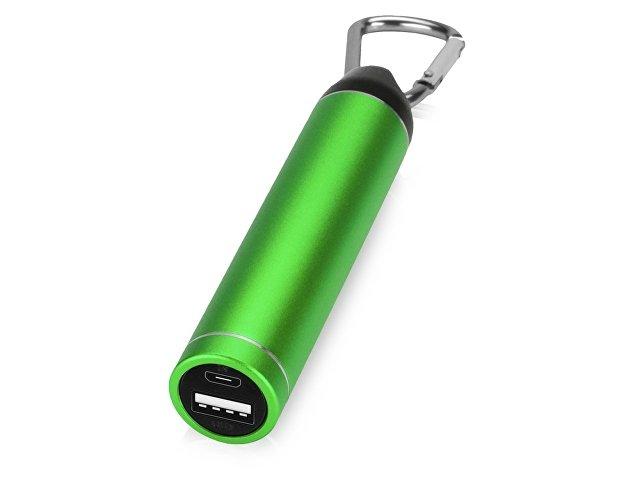 Портативное зарядное устройство с карабином, 2600 mAh