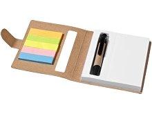 Набор стикеров «Reveal» с ручкой и блокнотом А7(арт. 10659400), фото 2