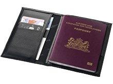 Подарочный набор: ручка шариковая, обложка для паспорта(арт. 10670300), фото 4