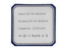 Портативное зарядное устройство «Volt», 2200 mAh(арт. 12349201), фото 2