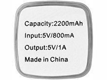 Портативное зарядное устройство «Flash», 2200 mAh(арт. 12357102), фото 2