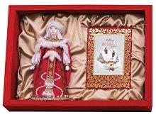Подарочный набор «Рождество»: кукла декоративная, шоколадные конфеты «Конфаэль» (арт. 13515)