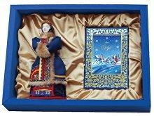 Подарочный набор «Русская тройка»: кукла декоративная, шоколадные конфеты «Конфаэль» (арт. 13516)