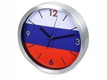 Часы настенные «Российский флаг» (арт. 186120)