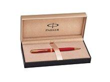 Ручка Parker шариковая тонкая «Sonnet Red GT»(арт. 306821), фото 3