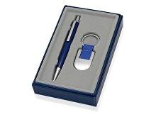 Подарочный набор: ручка, брелок «Ультрамарин» (арт. 375222)