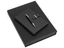Набор: дизайнерский блокнот А5, ручка шариковая (арт. 40150)
