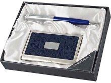 Набор: ручка шариковая, визитница (арт. 410853)
