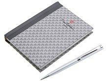 Набор: ручка шариковая, блокнот (арт. 410855)