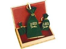 Набор «Клипер»: часы песочные, нож для бумаг, ручка шариковая, брелок-термометр (арт. 489906)
