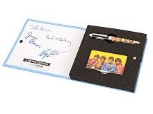Набор The Beatles «Sgt.PEPERS»: визитница, ручка роллер (арт. 50744)