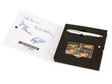 Набор The Beatles «WHITE ALBUM»: визитница, ручка роллер (арт. 50745)
