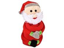 Мягкая игрушка «Дед Мороз» с пледом (арт. 525201)