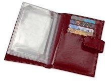 Бумажник для водительских документов «Марта», красный(арт. 559741), фото 3