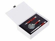 Набор: портмоне, ручка, лупа, нож для бумаг (арт. 568409)