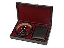 Подарочный набор: ремень, портмоне (арт. 58481)