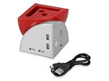 USB Hub 4 порта «Куб»(арт. 628941), фото 2