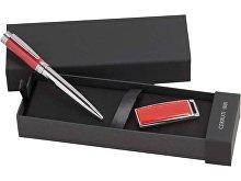 Набор: ручка шариковая, USB-флешка на 2 Гб (арт. 67188)