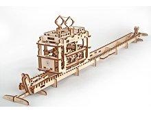 3D-ПАЗЛ UGEARS «Трамвай» (арт. 70008)