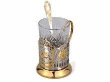 Набор «Победители»: стакан с подстаканником и ложкой (арт. 82570)