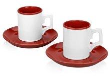 """Набор """"Дуо"""": 2 чашки с блюдцами(арт. 877711)"""