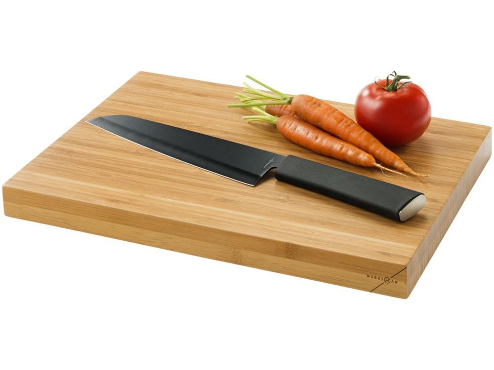 Разделочная доска и нож Element, черный