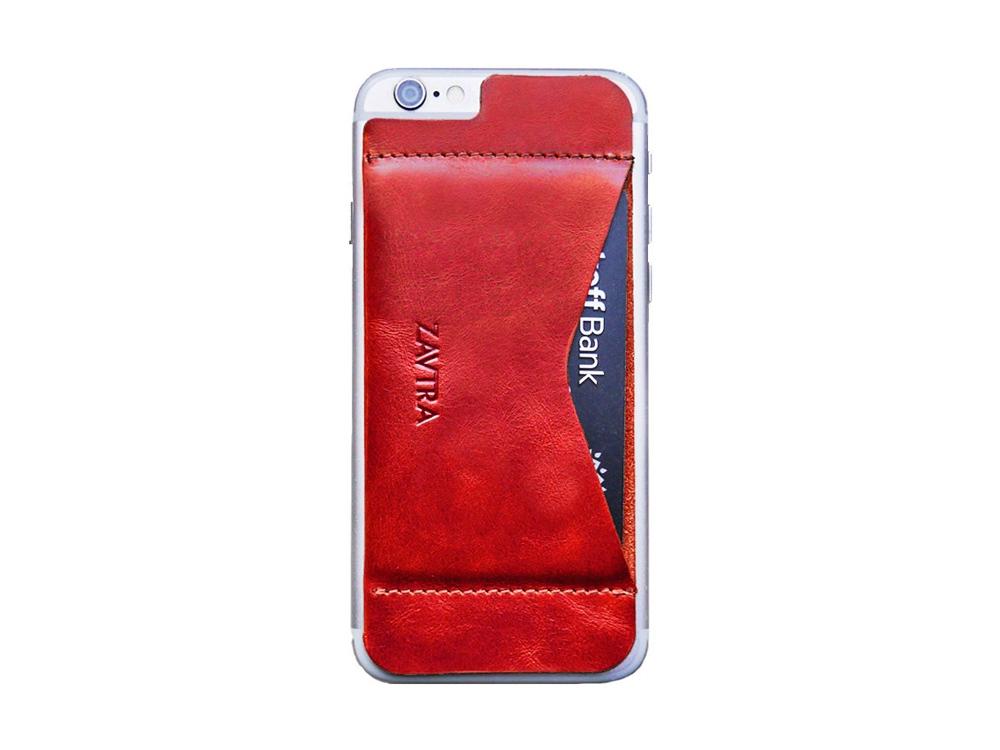 Кошелек-накладка на iPhone 6/6s, красный