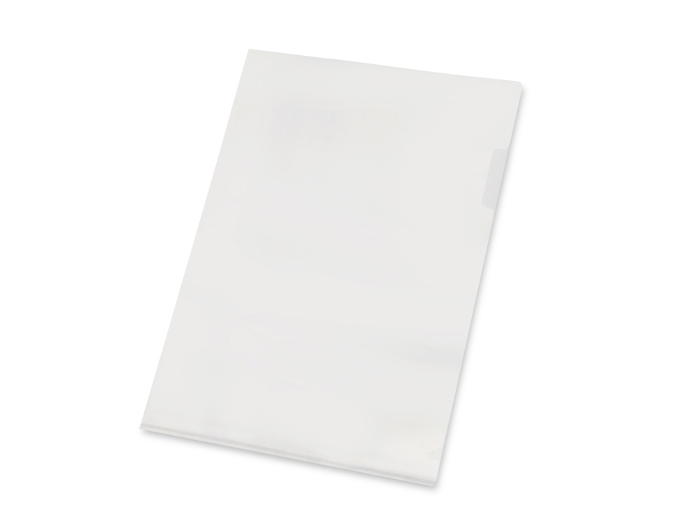 Папка- уголок А4, прозрачный