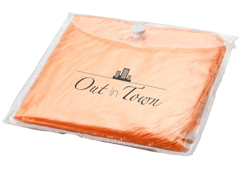 Дождевик, оранжевый