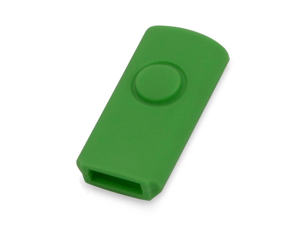 Корпус для флеш-карты «Щит», зеленый