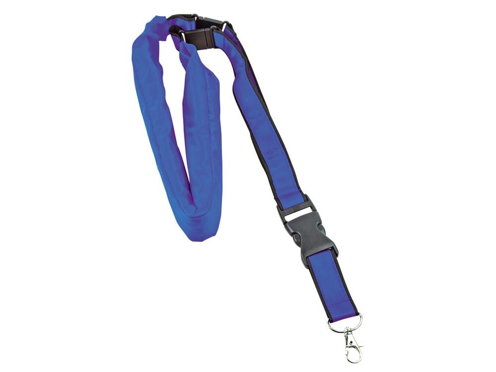 Ремешок на шею с капюшоном, синий