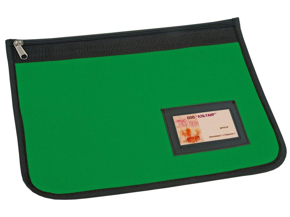 Папка для документов, зеленый