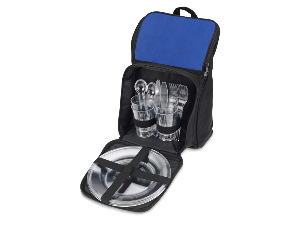 """Пикник-сеты : рюкзак для пикника """"стенли"""", черный_синий."""