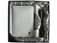 Набор: ручка шариковая, обложка для паспорта (арт. 411140)