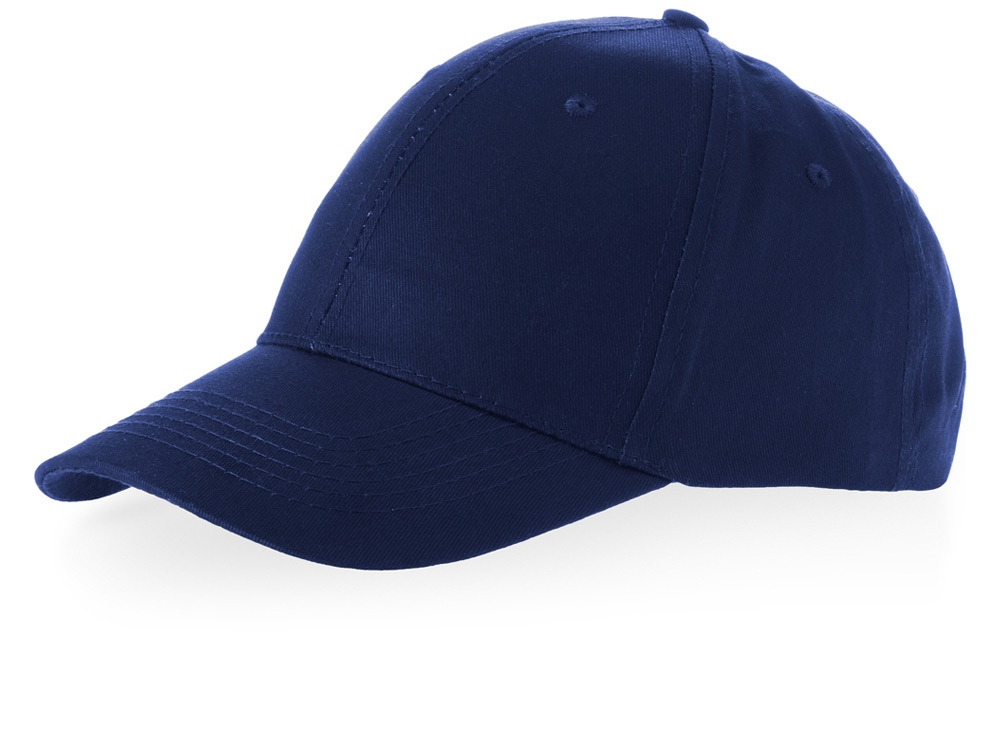 Бейсболка Watson, 6 панелей, темно-синий