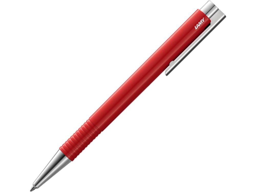 Ручка шариковая 204 logo M+, Красный, M16