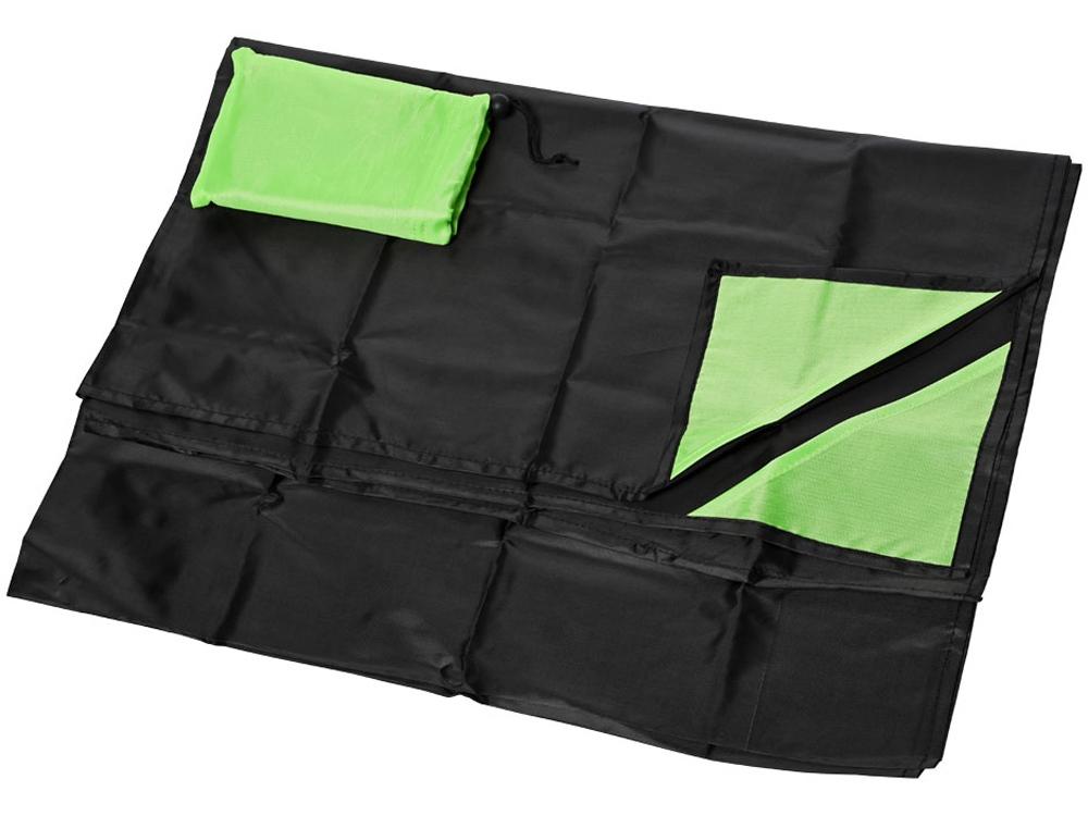 Коврик для пикника Perry, черный/зеленый