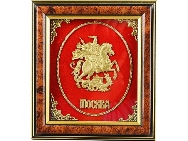 Панно настольное «Герб Москвы»