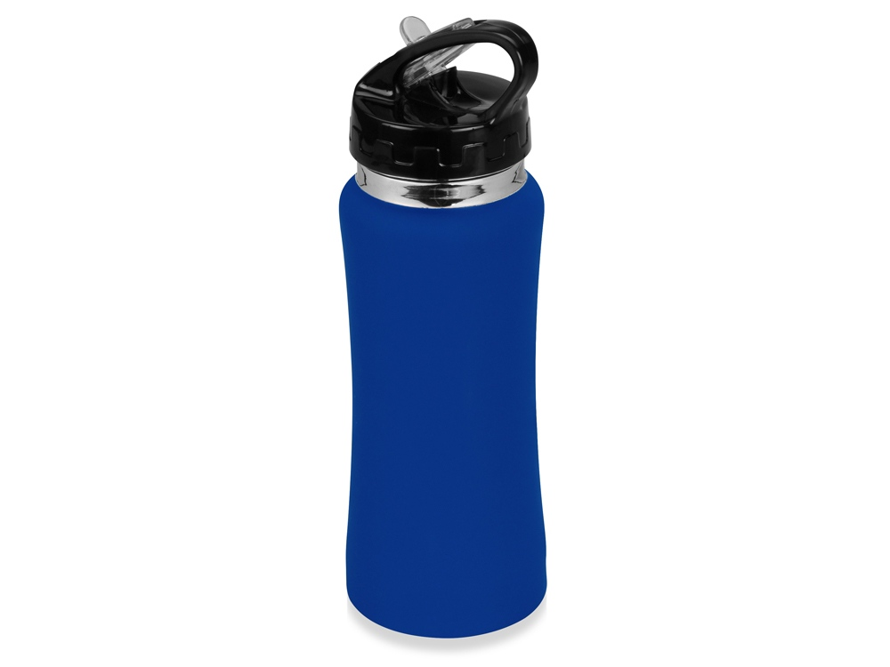 Бутылка спортивная Коста-Рика 600мл, синий