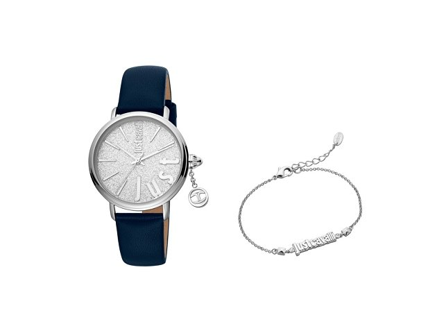 Подарочный набор: часы наручные женские, браслет (арт. 60001)
