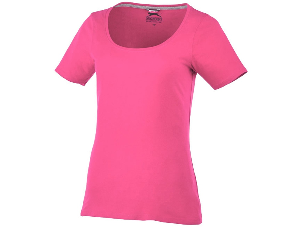 Женская футболка с короткими рукавами Bosey, розовый