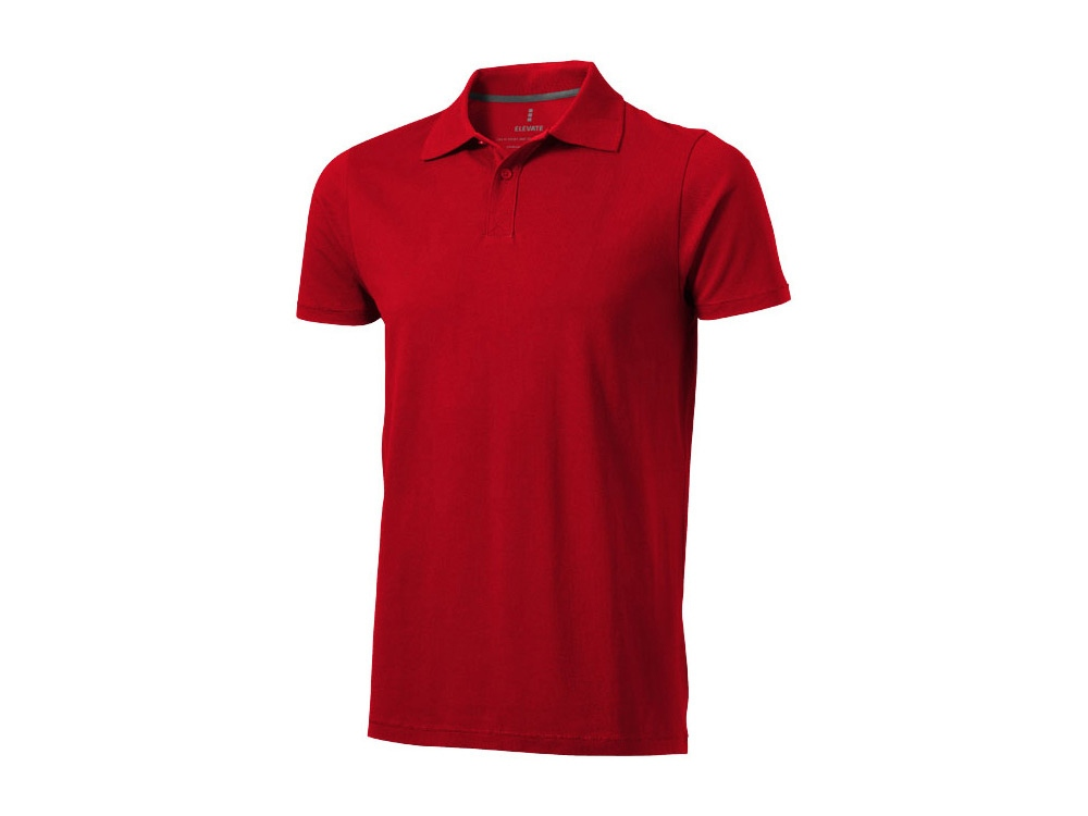 Рубашка поло Seller мужская, красный
