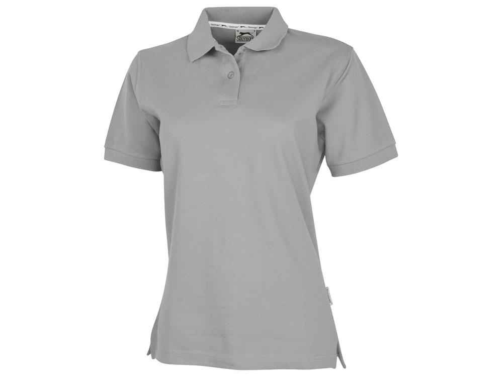 Рубашка поло Forehand женская, стальной-серый