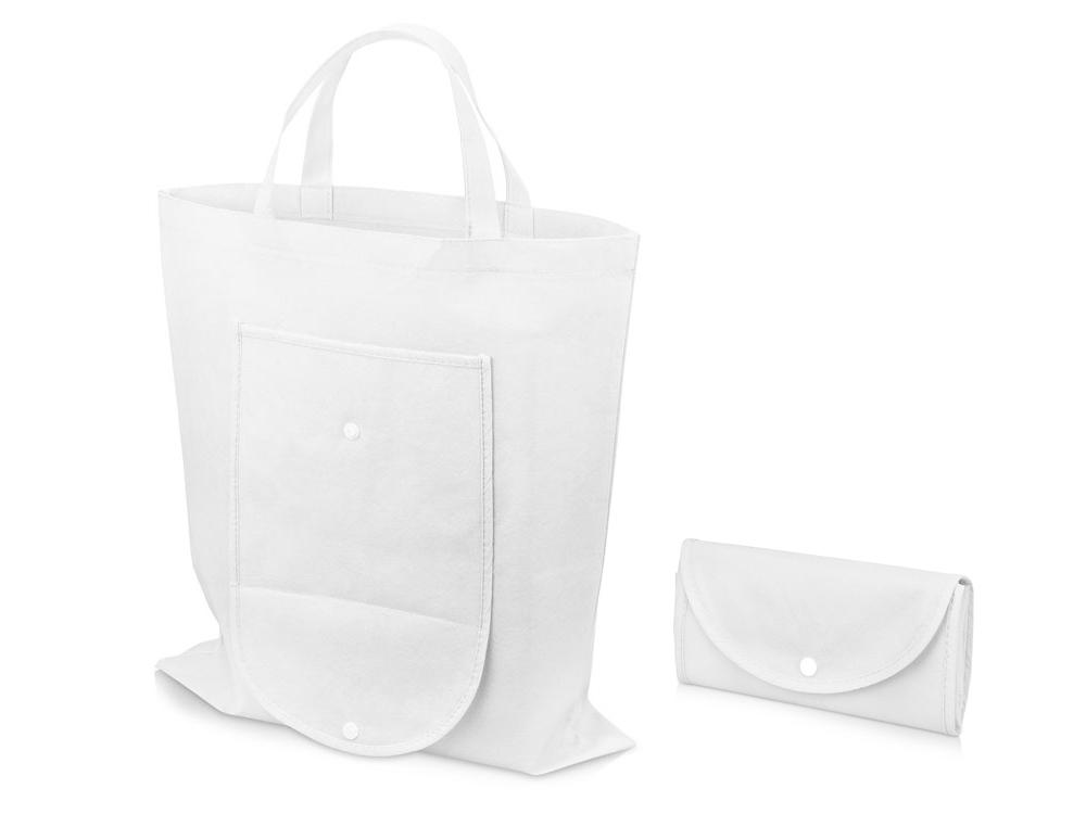 Складная сумка Maple из нетканого материала, белый