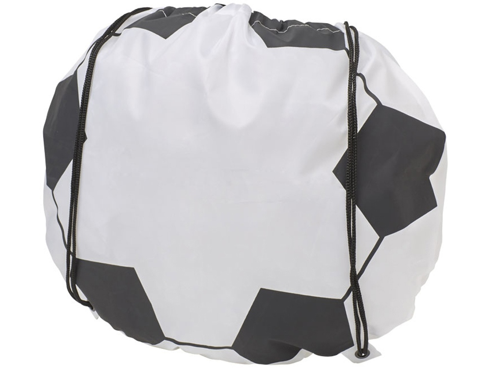 Рюкзак с принтом мяча, белый